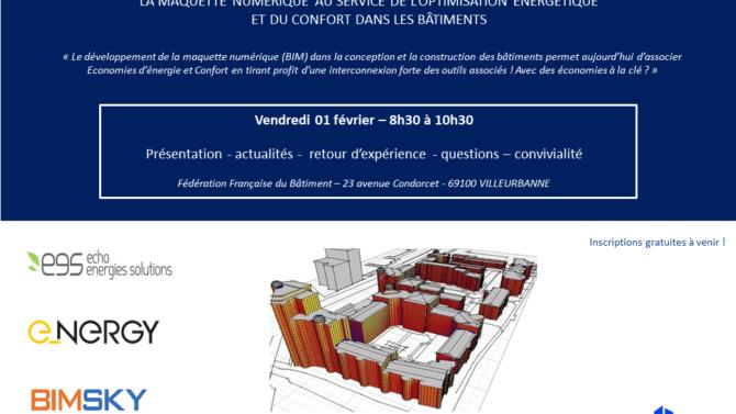 Événement FFB Rhône EES/E-Nergy Et BIMSKY
